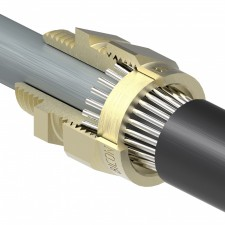 Aluminuim cable cleat