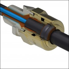 Barr-A Explosion Proof Cable Connector